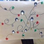 Image for the Tweet beginning: Year 6 Christmas craft morning-