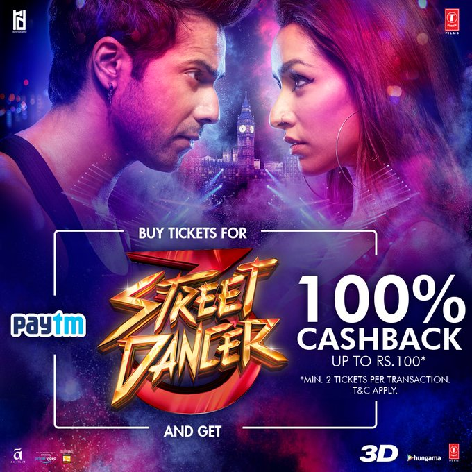 It's time to shuffle and join the dance battle that has begun🔥 Advance booking of #StreetDancer3D opens