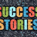 Image for the Tweet beginning: #SuccessStories show the goals and