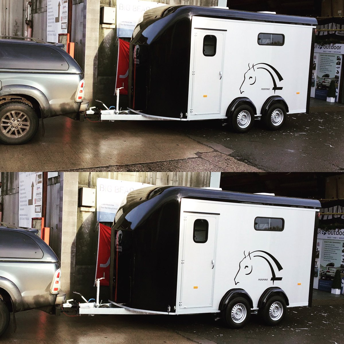 Another Stunning Cheval Liberte Minimax (3 horse trailer) leaving us today - What a Beauty ! #chevalliberté #chevalliberte #minimax #chevalliberteminimax #horsetrailer #besthorsetrailer #trailers #equestrian #equestrianlife #equestrianstyle #horses #horseshow #ponyclub #oundlepic.twitter.com/FNGBGbzDOD