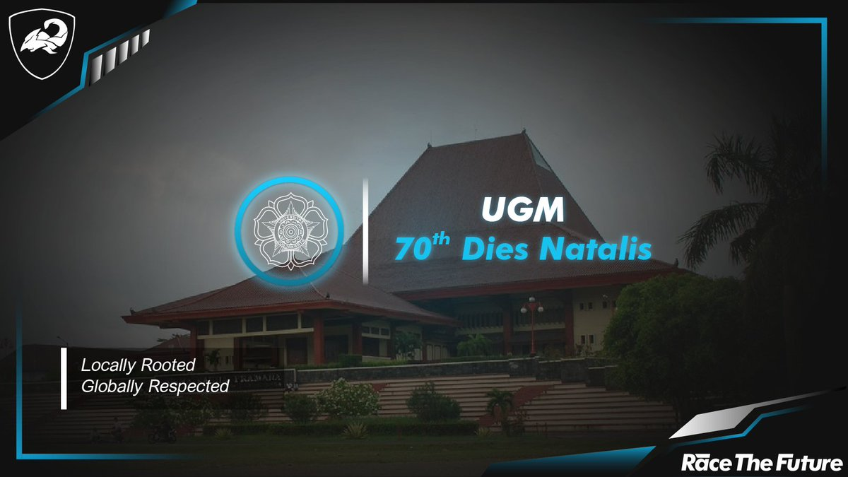 Arjuna Tmo Ev Ugm On Twitter Ugm 70th Dies Natalis Its Been 70 Years Since Ugm Become One Of Prestigious Institution In Indonesia And We Are Very Proud As Part