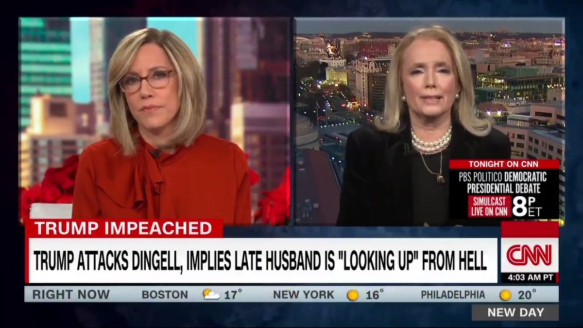 Rep. Debbie Dingell thanks colleagues for support after Trump suggests John Dingell is in hell