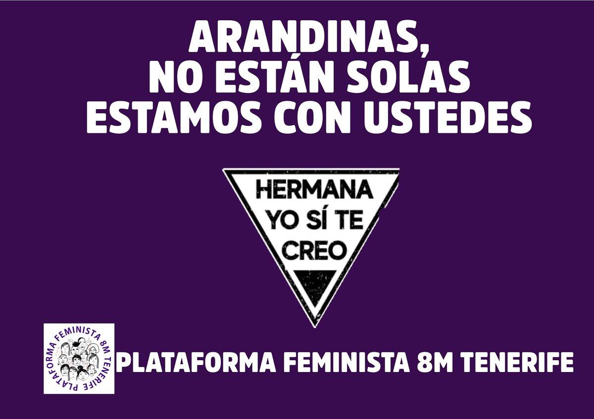 #HermanaYoSiTeCreo #RespuestaFeminista https://t.co/mp0LNqlMqI