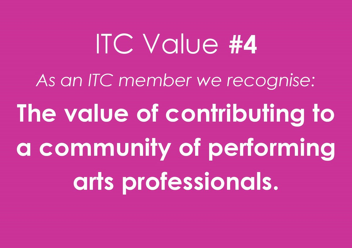 Thank you for everything this year brilliant ITC members. Here's to creativity, courage and community in the 20s!