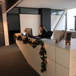 Image for the Tweet beginning: Christmas mood in the office #CryptoFuture
