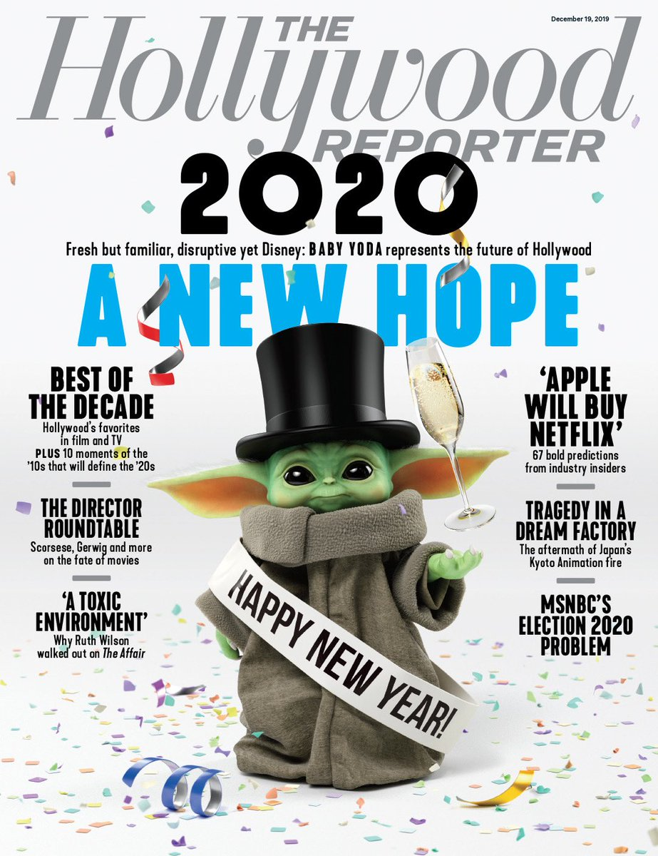 Baby New Year looks very familiar #TheMandalorian ⁦@THR⁩