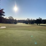 Image for the Tweet beginning: Hole #1, The Valley Club