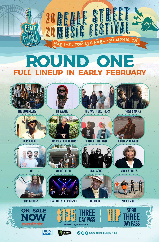2020 Beale Street Music Festival lineup