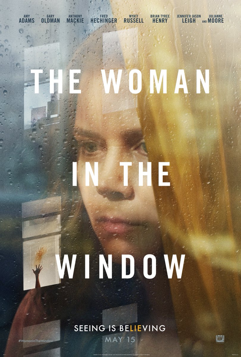The Woman in the Window Trailer: Amy Adams Questions Her Sanity
