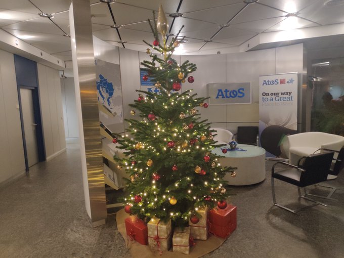 It's beginning to look a lot like Christmas!🎄✨🎼 #Atos wünscht besinnliche Weihnachten...