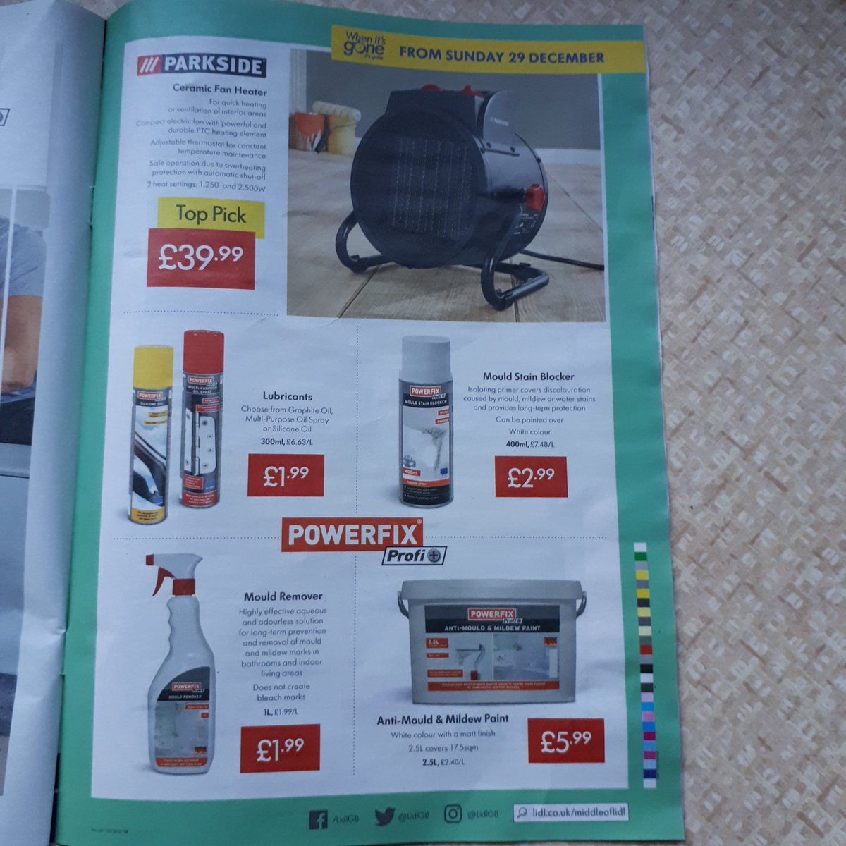 Stuart Smiles On Twitter Lidl Catalogue For Next Week Anti
