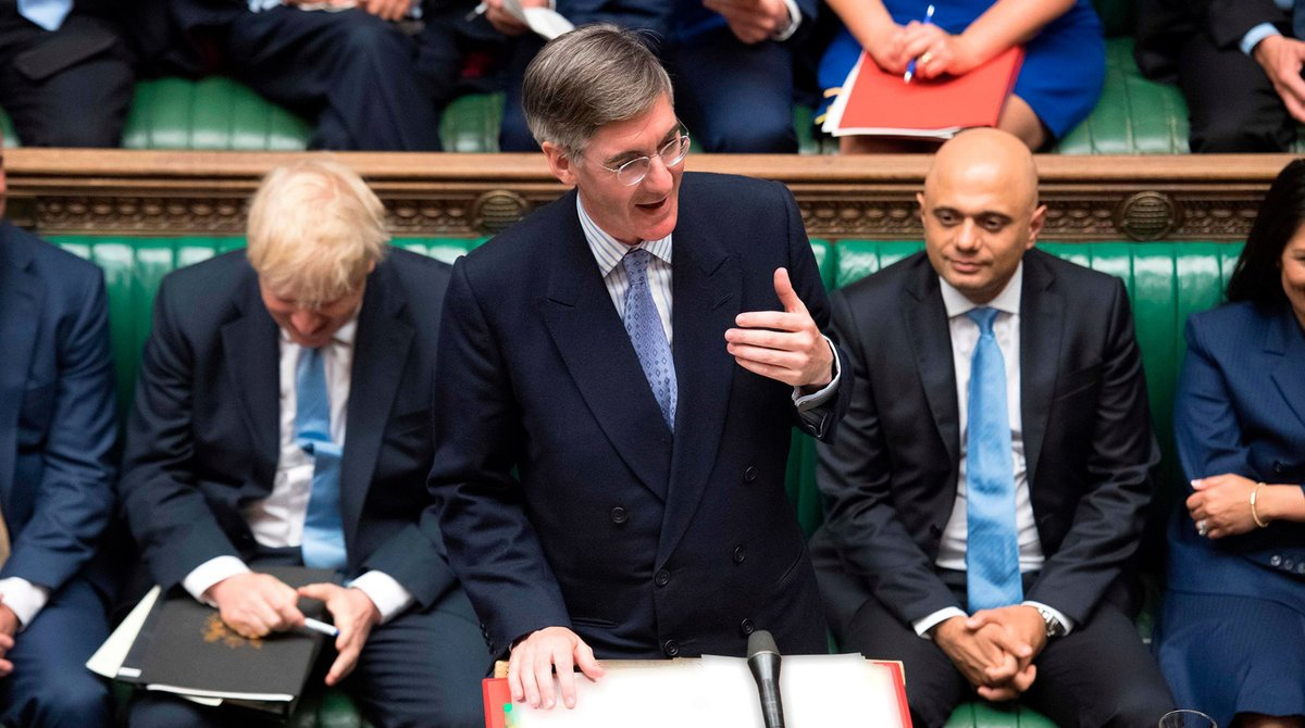 💬 Following the debate on the Queens Speech this evening, the Leader of the House of Commons @Jacob_Rees_Mogg will make a business statement at around 10pm.