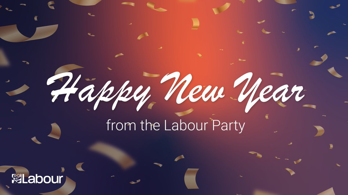 To everyone in the UK and around the world celebrating, we wish you a happy New Year.