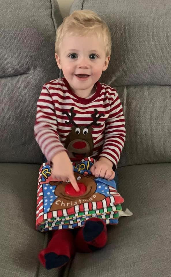 This will be my grandsons first Christmas, his daddy wont be with us as he is in Bahrain serving with the Royal Navy. He will miss not only Harrys first #Christmas but also his first birthday. Spare a thought for those who wont be with their families at this time of year.