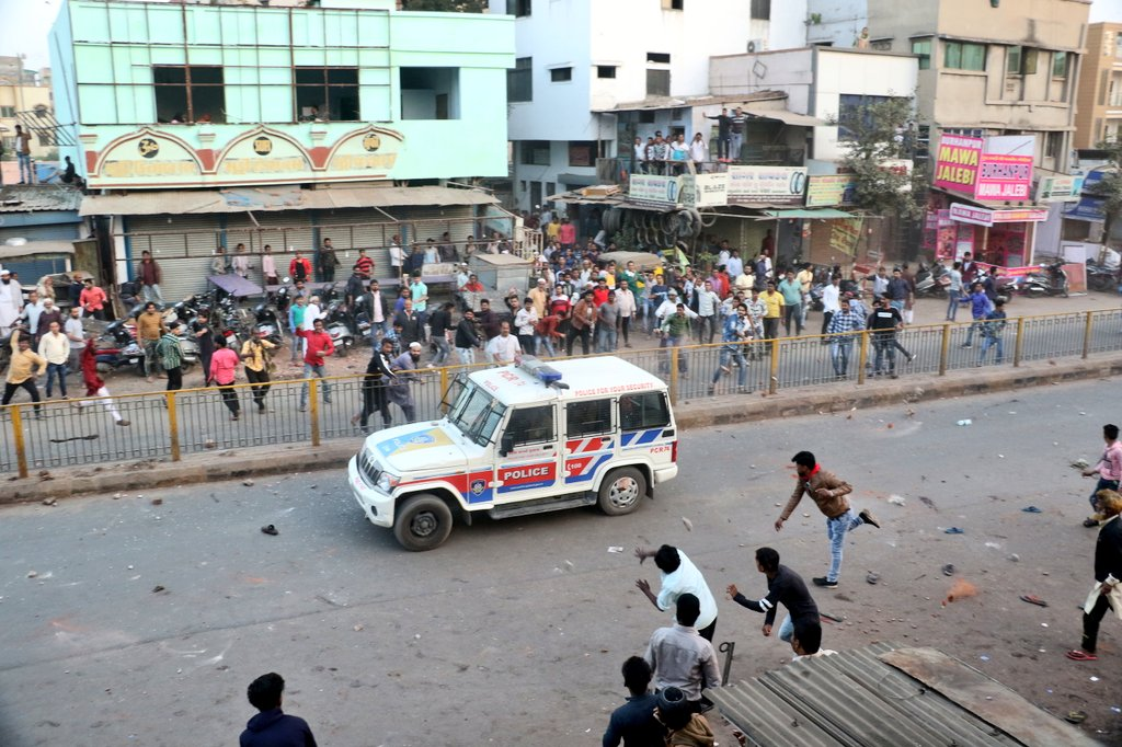 Over 75 hooligan rounded up for violence during anti CAA bandh in Ahmedabad