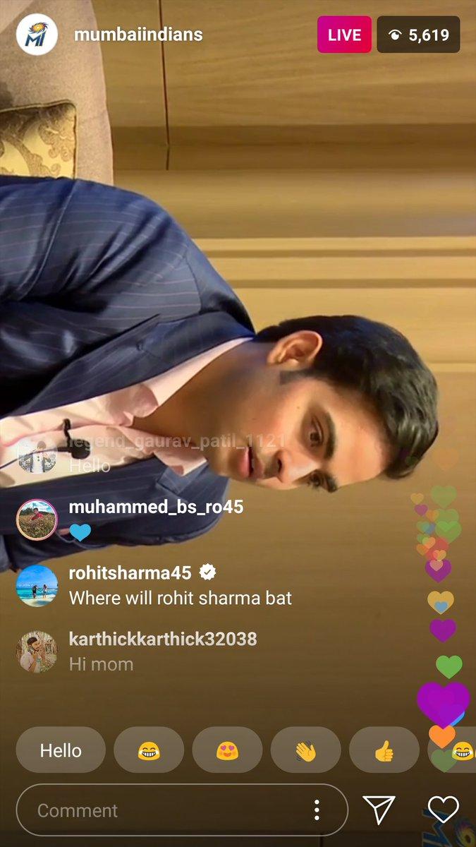 """Where Will I Bat?"" - Rohit Sharma Trolls Mumbai Indians After IPL 2020 Auction 1"