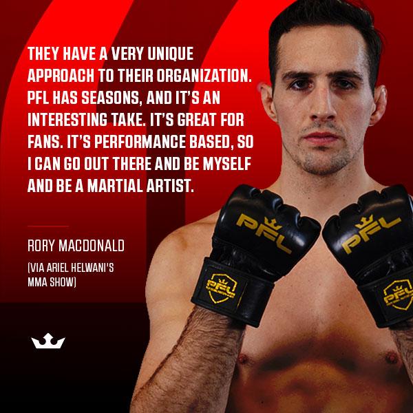 The Red King @Rory_MacDonald is ready for the 2020 PFL Season (via @ArielHelwani #HelwaniShow)