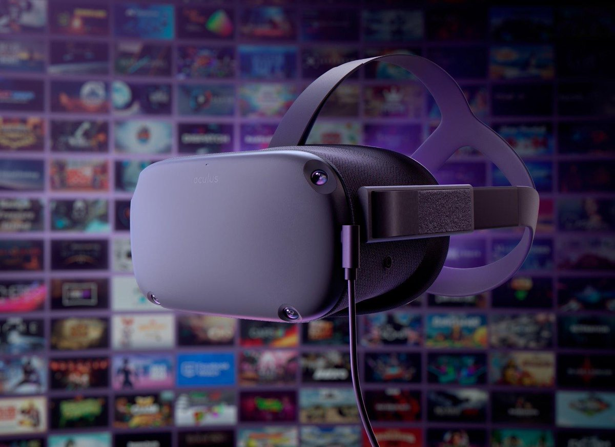 Our Oculus Link cable is now available in select regions! Combine the ease of #OculusQuest with the dynamic content library of the Rift Platform in a best-in-class experience. Visit oculus.com/quest/accessor… to play the best of both worlds. Quantities are limited.