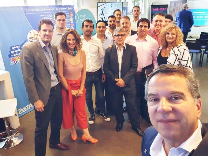 😎👉Hoy estamos en @vwargentina para participar de su #TechDay y compartir todo lo que...