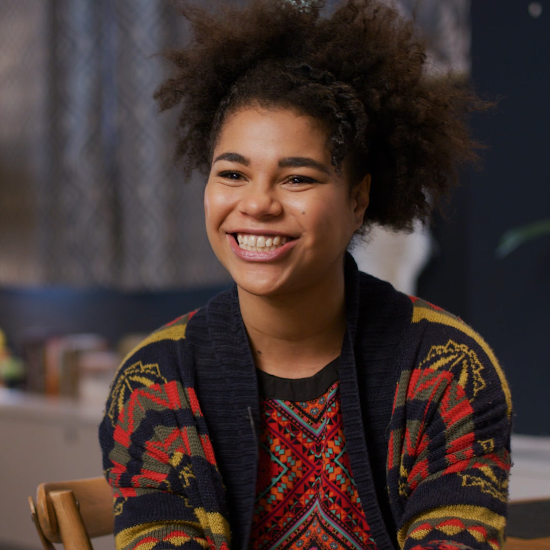 Image for the Tweet beginning: Meet @EbonyVagulans, who plays invaluable