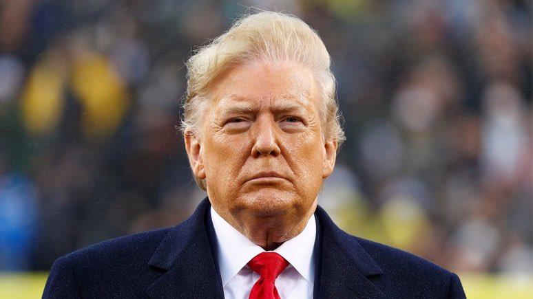 Великий Трамп в посудной лавке