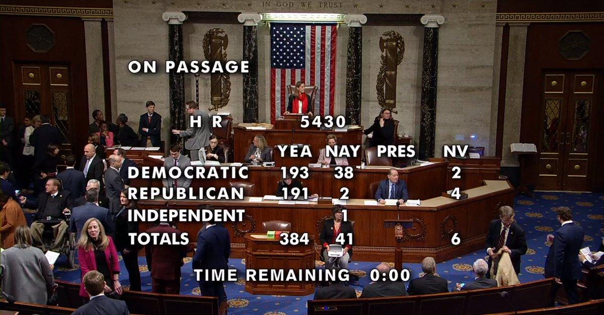 House passes USMCA…