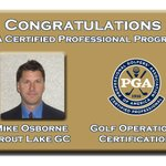 Image for the Tweet beginning: Another @WisconsinPGA member has completed