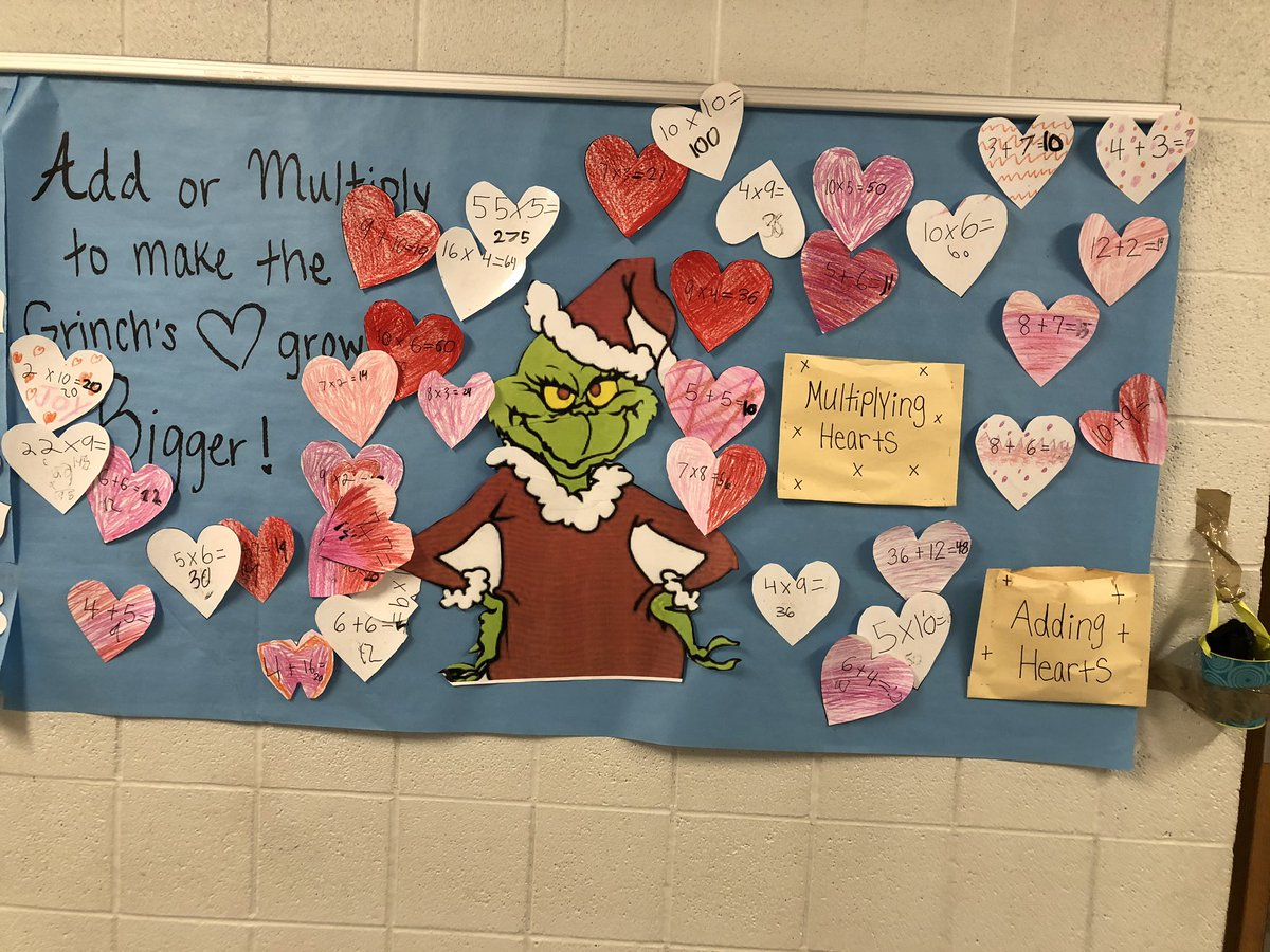 Some Merry Math and social emotional learning ❤️ love my school!
