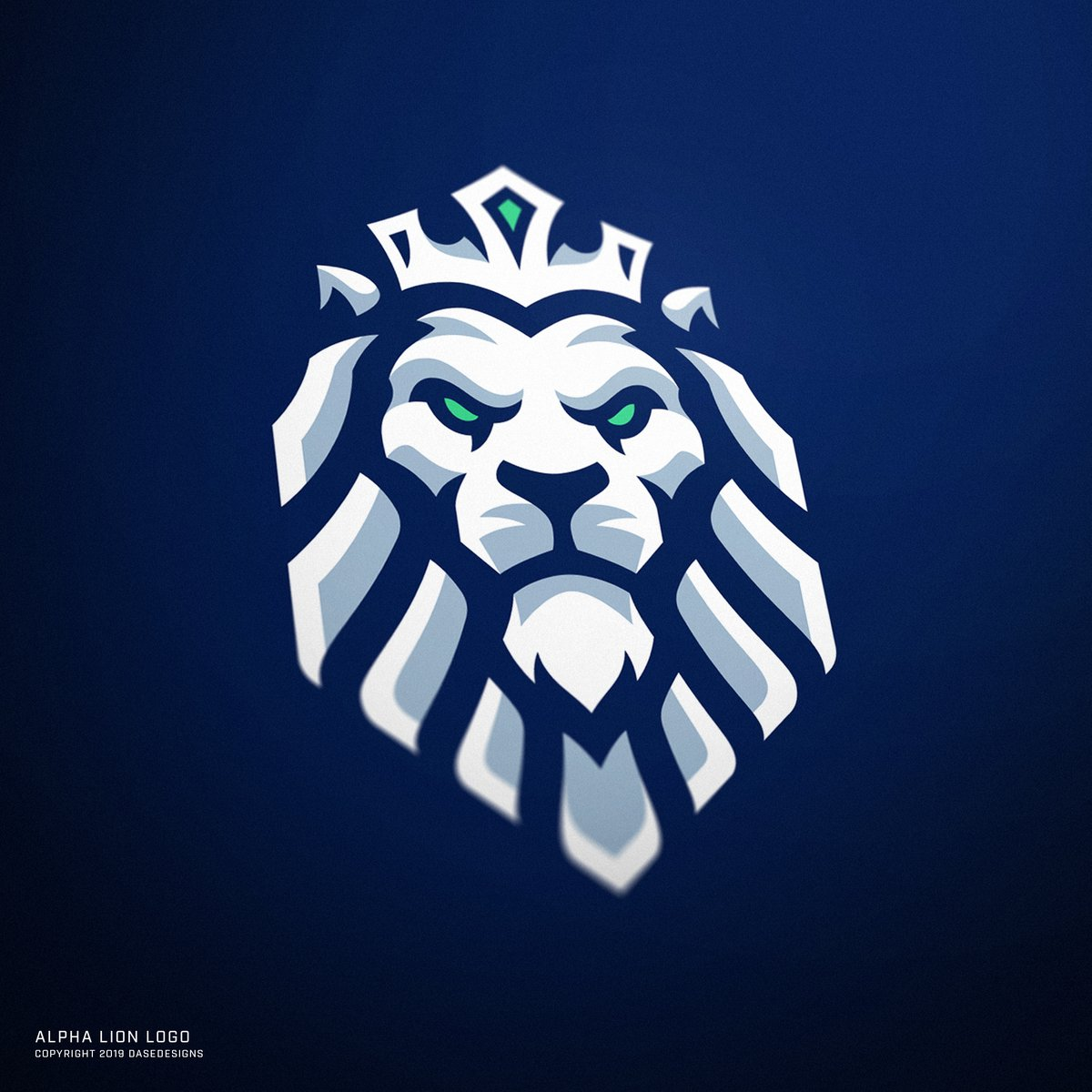 Derrick On Twitter Alpha Lion Logo Made For A Trading Company Blue Minus The Outline Was The Original We Winded Up Settling On Black Instead Which Is Y Alls Favorite Https T Co 6aavq1rlzl Animals vector design concept, outline style. derrick on twitter alpha lion logo