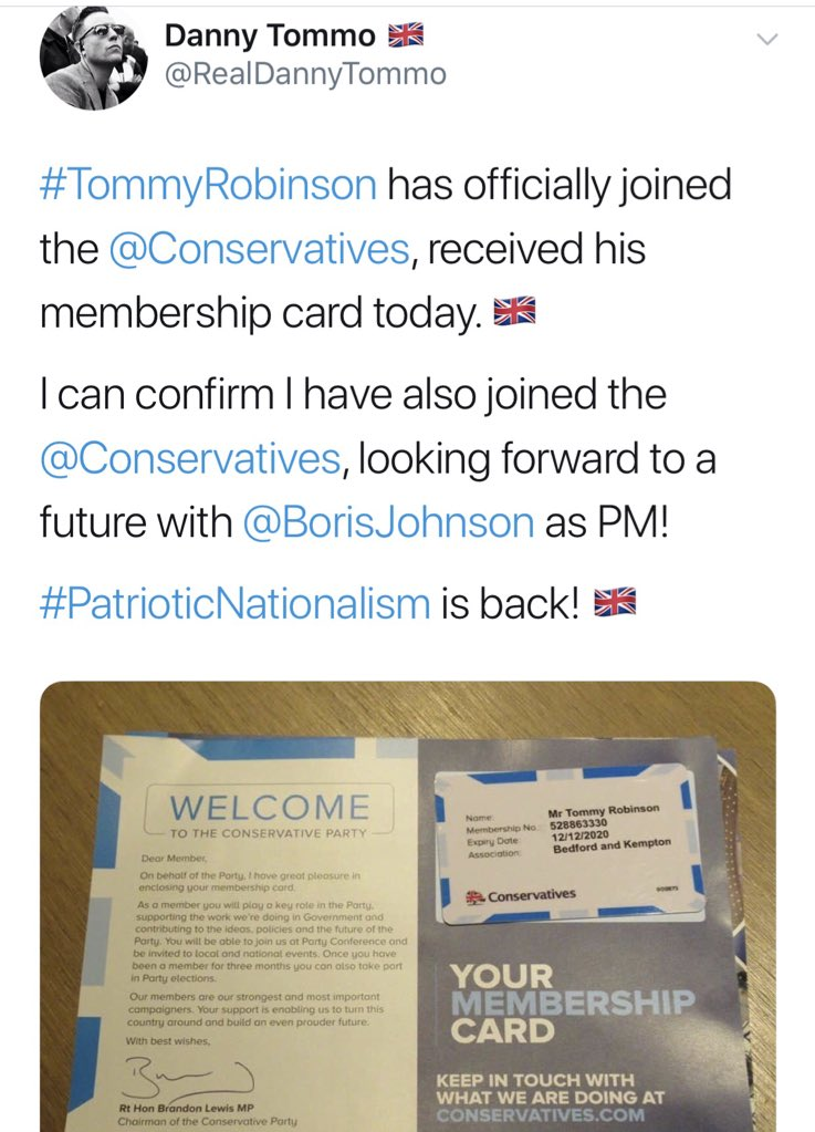 Not the idiot's actual name; not the right spelling of the place (KempSton); not the right Chairman of the Party... In short, this is total bollocks - but some ppl who should know better are promoting it as true because they're desperate for attack stories.