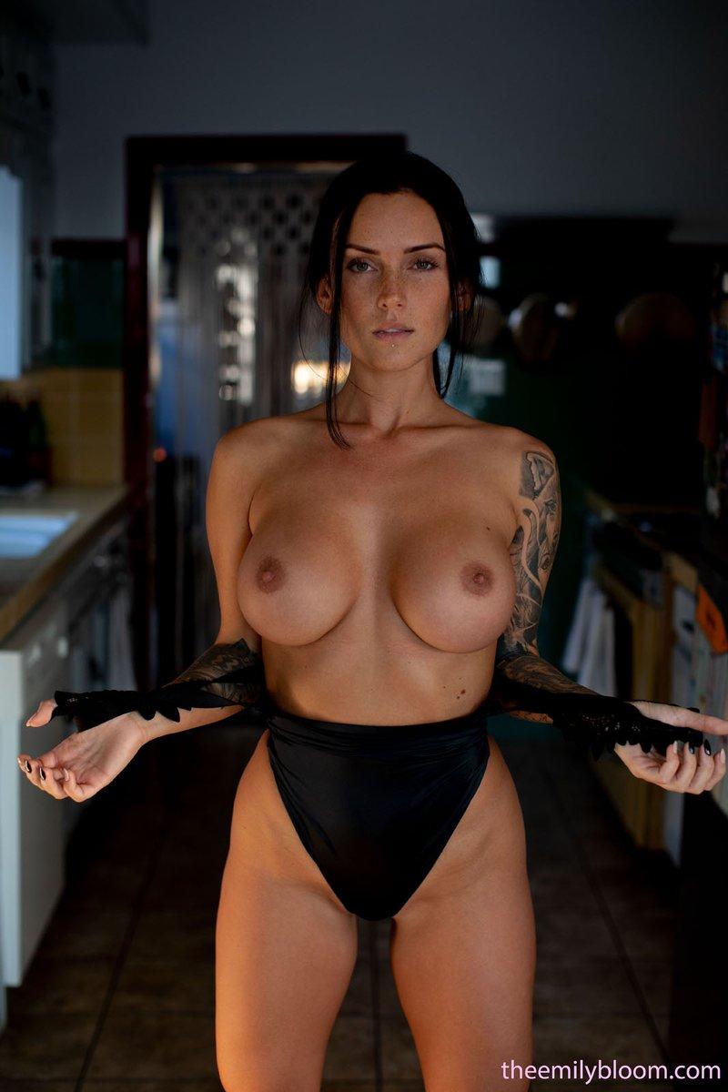 Lauren Socha Topless