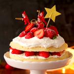 クリスマス当日でもすぐできる!レンジスポンジケーキで【クリスマスケーキ】