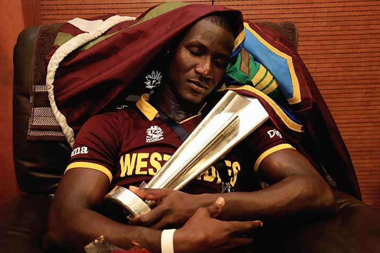 Happy Birthday Daren Sammy🎂  Remember Sammy's Reaction after Taking @sachin_rt's last inng Catch 'I took a catch but there was no emotion shown.That's the level of respect I have for Sachin'- @darensammy88🙏  2 WT20 Winning Captain Fastest ODI 50(WI) 1st to take 5 Wkt in T20(WI)