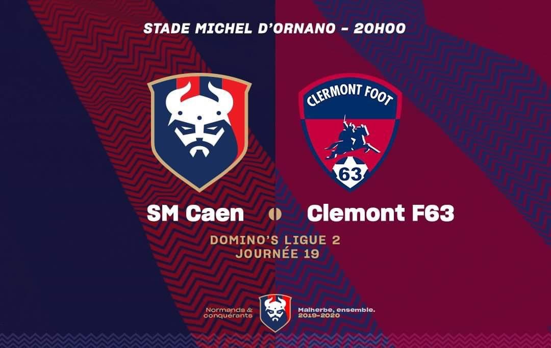 [19e journée de L2] SM Caen 0-0 Clermont Foot EMN26OsUEAUOCU5