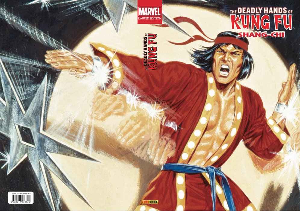 Marvel Limited Edition. The Deadly Hands of Kung Fu: Shang-Chi  https://www.universomarvel.com/marvel-limited-edition-the-deadly-hands-of-kung-fu-shang-chi/…