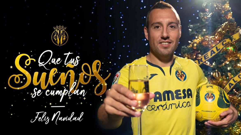 ¡El Villarreal CF os desea Feliz Navidad 🎅🎄! ¡Que tus sueños se cumplan 🥂!