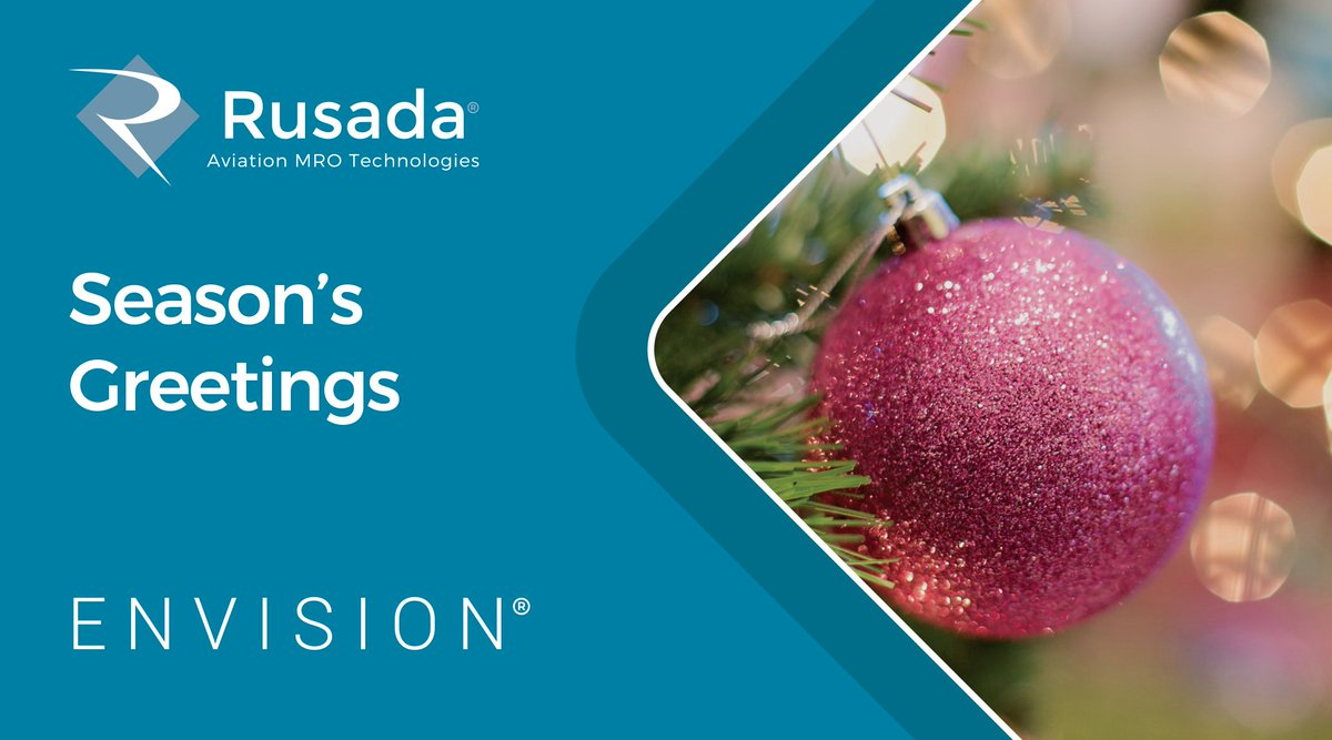 Season's Greetings from everyone here at Rusada. We hope you have a wonderful time with your friends and families, and look forward to seeing you in 2020!
