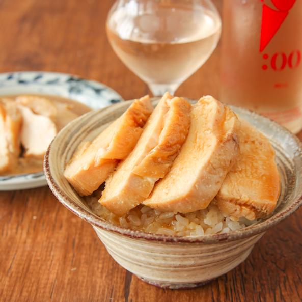 レンジで【ジューシー麺つゆマヨチキン】麺つゆ×マヨ×鶏胸肉でこれ最高…止まらなくなる味です