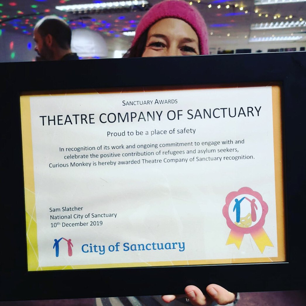 It's official... @CityofSanctuary