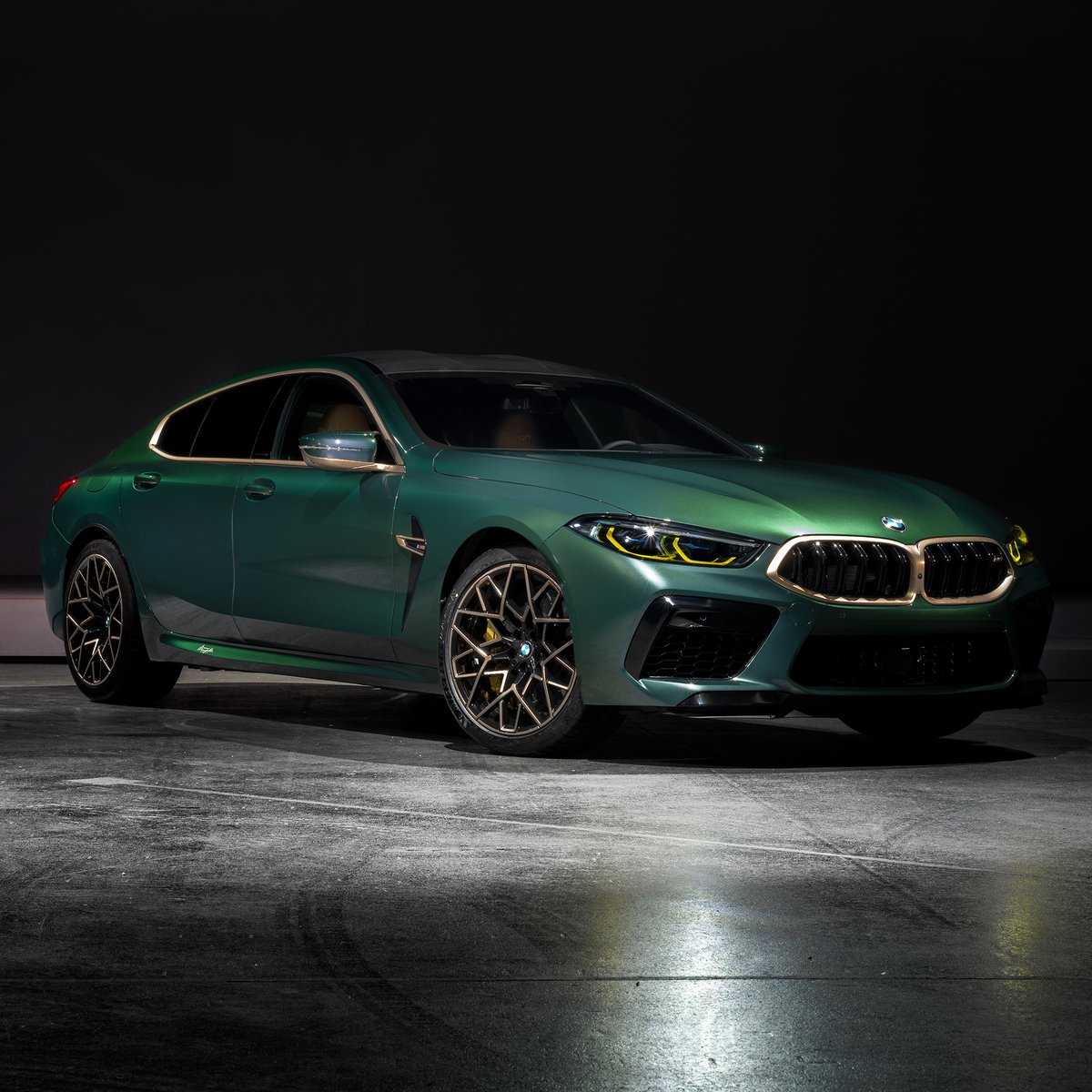 Introducing The 8-OF-8. With only 8 existing, the new model is the height of exclusivity. The 8-OF-8 builds on the M8 Gran Coupé First Edition, adding unique interior and exterior Individual specification. #8OF8See more: http://bit.ly/2Q0H0Se