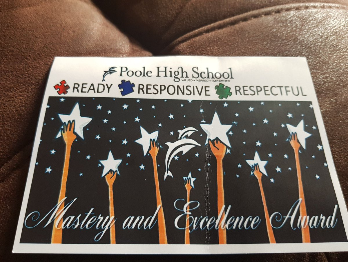 @poole_high just received through the post. My son is doing well in his lessons. 💙👍😀