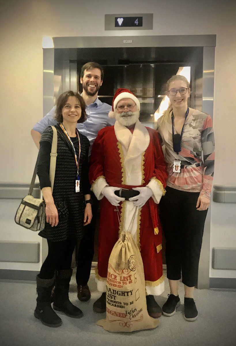We are clearly on Santa's good list this year ! It must be our good #antibioticstewardship #startthenstop @GreatNorthCH paediatric Immunology and infectious diseases team!  #bestbeard pic.twitter.com/afBTAl8jUf
