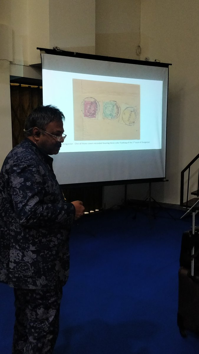 Seminars by eminent philatelists on 19th Dec in the event Inpex2019#Inpex2019 #philately #stamp