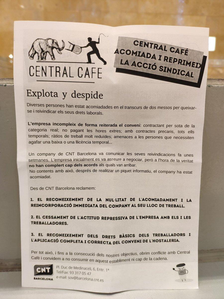 туитове със съдържание от Solidaritat Obrera Metro Barcelona