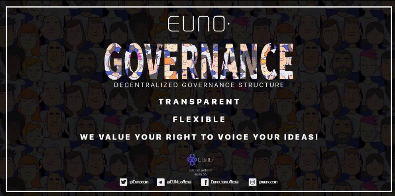 @EunoCoin @EunoForces  Do #EUNO , has #Governance room only for #masternode holders where every decision is taken on the basis of open #discussion & #voting #finalize the #decisions  #decentralized #Governance #structure #transparent #flexible  #EUNO #value your #right to #voice https://t.co/lYWiU1HP3v
