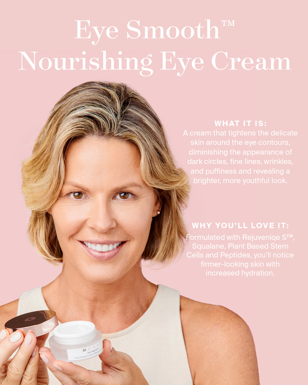 Monat On Twitter Did You Know Clinical Results Revealed That After Using Eye Smooth Nourishing Eye Cream 91 Said That Their Skin Felt Softer Smoother And Revitalized In Just 4 Hours It S