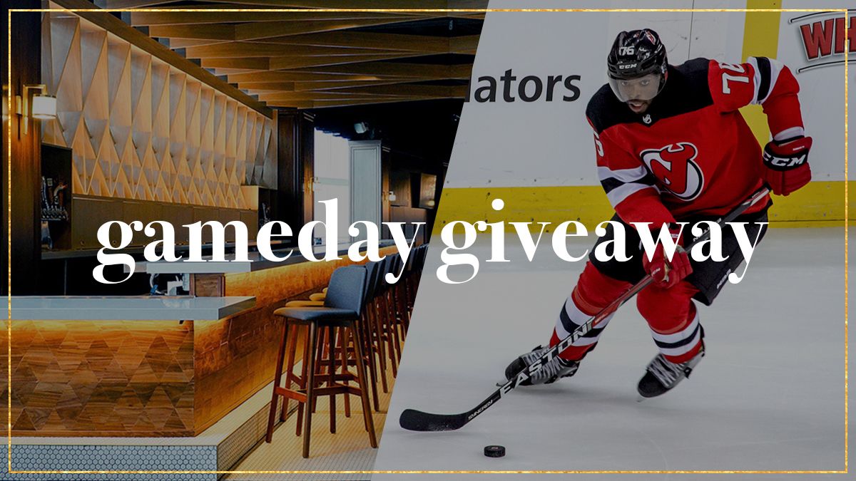 🚨 #NJDevils GAMEDAY GIVEAWAY 🚨  Follow @PruCenter on Twitter and Instagram for your chance to win 2 Premium @NJDevils tickets in The Lofts! The first eligible person (can only win once a season) to reply to the tweet will win tickets to today's game.