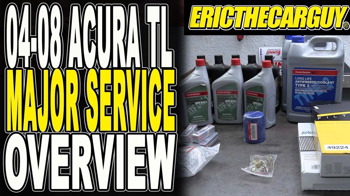 In today's #etcgvideo  I put the service smack down on the TL. BTW this info is also good for Accord V6's.  #acura #acuraservice #etcgblackura #honda #hondaservice  https:// youtu.be/GQ2wueG-qGU     <br>http://pic.twitter.com/KelXdtQMF2