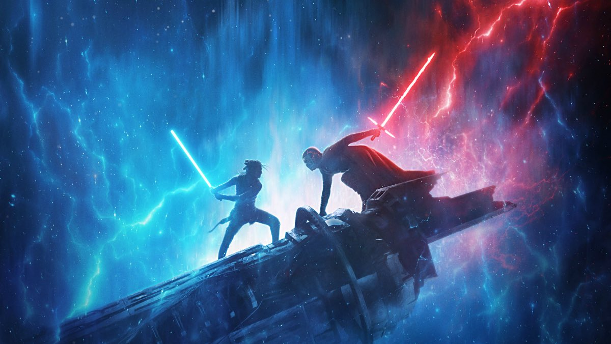 Spoiler-free thread on #RiseOfTheSkywalker :  This is a good film, the best of new trilogy, and a deeply satisfying end to the 42-year arc.  TFA was a clone of ANH. TLJ was ambitious but incoherent. This splits the difference, with lots of callbacks to the.original trilogy.
