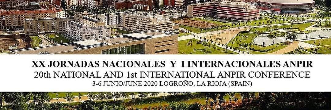 La Asociación Nacional de Psicólogos Clínicos y Residentes (ANPIR) junto con la Universidad de La Rioja se complacen en presentar lasXX Jornadas Nacionales y I Internacionales de ANPIRque se celebrarán del 4 al 6 de Junio de 2020 en la ciudad de Logroño.